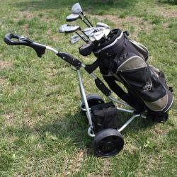 Marcação Aprovar Custom best selling empurre o carrinho de golfe Eléctrico (DG12150-B)