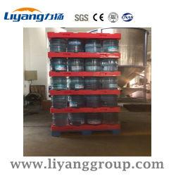 Commerce de gros plastique Palette séparée 4/5 gallon l'eau embouteillée Rack de stockage