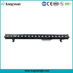 Для использования вне помещений 18*3W RGB светодиоды высокой мощности на стену для архитектуры
