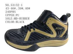 Negro y Azul 43-46# hombres Zapatos Zapatos de stock de baloncesto
