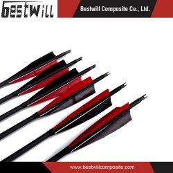 矢シャフトのためのハンチングおよびアーチェリーカーボンファイバーの製品