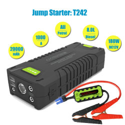20000mAh Mini Jumps Choke to Start All Gasoline Because