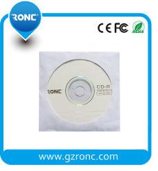 Couleur blanc de bonne qualité CD DVD enveloppe le manchon de papier 80g