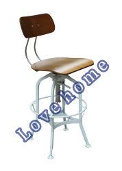 鋼鉄レストランの家具のトレド棒椅子を食事する産業金属