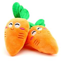Soft Caractere de frutas e vegetais de pelúcia brinquedos brinquedos de cenoura recheadas