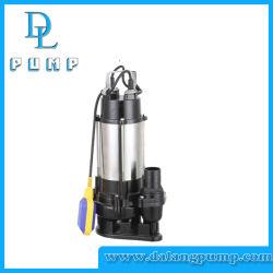 V750 en acier inoxydable série pompe submersible de drainage des eaux usées de la pompe à carburant électrique universel