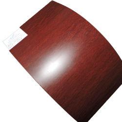 0,3 мм на 1,0 мм деревянную поверхность алюминиевого листа