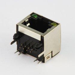 LED를 가진 직업적인 제조자 RJ45 소켓 연결관
