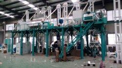 広く使用されている Maize Flour 生産ミル機械プロジェクト