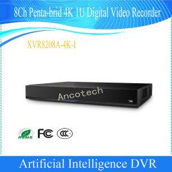Dahua 8CH Penta-Brid 4K 1u 인공 지능 감시 디지털 비디오 녹화기 (XVR8208A-4K-I)