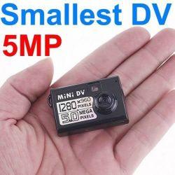 De kleinste Digitale Videorecorder MiniDV van de Camera met de Sensor van de Motie