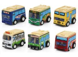 소형 차 승진 선물 장난감 만화 차 소형 버스 (2818)
