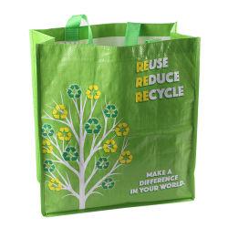 Специальный полипропиленовый тканый многоразовый ламинированный промо Eco Shopping Tote бакалея Сумка для перевозки тяжелых грузов водонепроницаемые шоппер прочные сумки для перевозки грузов