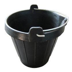 소몰이 먹이 정원용 산업용 버킷 10L 고무 버킷 손잡이가 있는 팜 공구 호스 피더