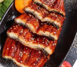 Filet d'anguille d'Unagi congelé, anguille de Kabayaki, Unagi de Kabayaki, fruits de mer de sushi
