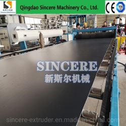 Kunststof PE/HDPE/PP/PVC/ABS Sewage Treatment Board/Plate Extrusion Production machine, Plastic Board/Plate/Sheet Extruding Machinery