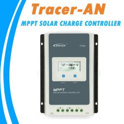 Epever MPPT 40A/30A/20A/10Aの12V 24Vの鉛酸リチウムイオン電池のための太陽料金のコントローラ黒ライトLCD太陽調整装置