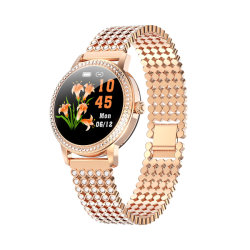 سيداتي بأسلوب سويسري فاخر، ساعة ذكية، ساعة، مقاومة للماء السيدة لو20