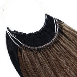 Правам двойной обращено волос бразильский китайский расширений волос без наконечника Виргинских волос волосы