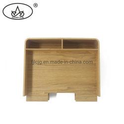 Plan d'examen de l'organiseur de bureau Porte-stylet Lettre plateau en bois de fichier de stockage