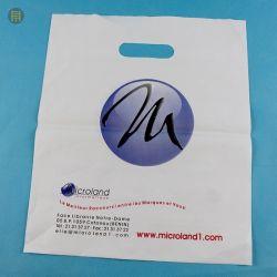 Поставщиком биоразлагаемых сувениры, биоразлагаемой сумка, оптовая продажа пластиковых забирать сумки, отверстия перфорации ручку одежду мешок, сумка для книжного магазина