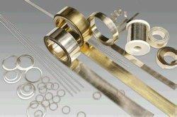 Hl205 plata baja con soldadura de plata del 5% con varilla de soldadura Hag-5b fabricante de alambre de soldadura de plata