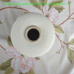 오염 자유롭게 통제 Ne80s를 가진 면에 의하여 빗질되는 조밀한 털실
