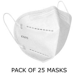 Antipoluição KN95 Máscara Respirador dobrável de Máscara de Gás de Escape/Alergias/pólen/ PM2,5