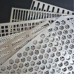 관례에 의하여 배열된 꿰뚫린 메시 격판덮개 철사 장이 양극 처리한 관통되는 알루미늄에 의하여 시트를 깐다