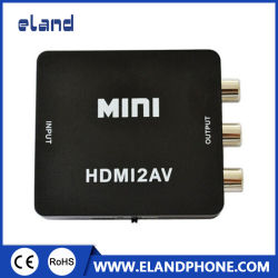 HDMI-RCA/AV コンバータ 1080p