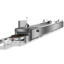 Toast de cuisson Stainelss Auto Commerciale Hot Dog machine à pain d'usine de la machine