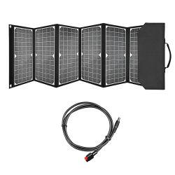 공장 셀룰라 전화 힘 은행 DC18V를 위한 이중 5V USB 포트를 가진 태양 충전기 60W Foldable 태양 전지판 휴대용 배터리 충전기 장비는 휴대용 퍼스널 컴퓨터 정제를 위해 출력했다