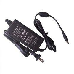 Enchufe USA 24V1A 25W LED de escritorio portátiles CCTV AC DC Contacto Fuente de alimentación con TUV Ce CB C-AEA Certificado de Graduación