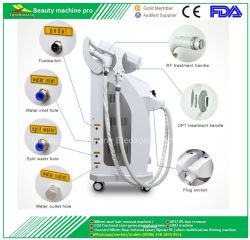 1개의 다기능 E 가벼운 IPL ND YAG Laser RF 아름다움 기계 IPL 사진 회춘 머리 제거 피부 재포장 및 귀영나팔 제거 시스템에 대하여 3