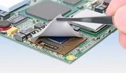 Goede geluidsabsorberende eigenschappen thermische koelpad voor CPU/GPU/LED/PCB
