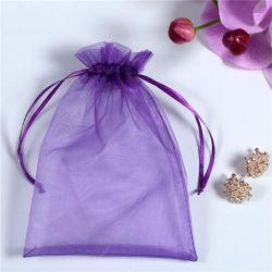 熱い販売ファブリックギフトはオーガンザのギフト袋を袋に入れる
