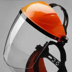 Casque de vélo de la sécurité PC Full Face Visière de protection transparent