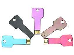 محرك أقراص فلاش USB 2.0 مزود بمفتاح ملون من OEM 2020 1 جيجابايت/2 جيجابايت/4 جيجابايت/8 جيجابايت/16 جيجابايت/32 جيجابايت