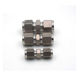 Hardware hidráulico Staninless Argola de aço Tubo Reto Adaptadores acoplamentos