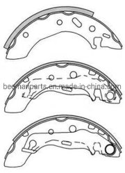 De auto Remschoenen van de Schijf niet van het Asbest van de Delen van de Auto voor Mazda K3395