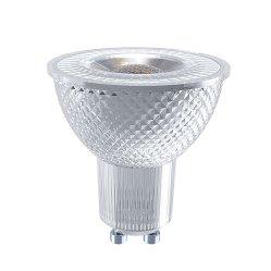 LED GU10 Dimerizável Spotlight 5,2 W Ra80 Ajustável Luz interna direcionável
