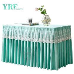 Table de Banquet jupes nappe en plastique de jupes