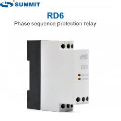 Rd6 3 Secuencia de fase de protección de sobre voltaje Relé Monitor