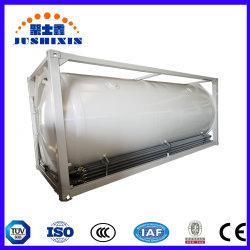 LNG LPG LPG منخفضة التكلفة T75 20 قدم أو 40 قدم ISO حاوية صهريج التخزين للبيع