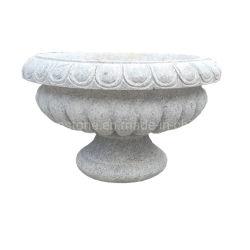ألواح زهرة من الحجر الطبيعي المنحوتة من الجرانيت للحديقة الخارجية