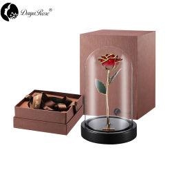 Cadeau de Noël Two-Tone or rose
