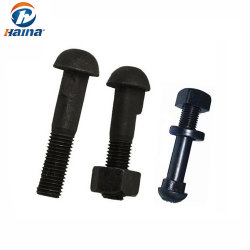Grade8 Fish Plate Bolt with Nut & Lock Washer for Railway(레일웨이 그레이더8 피시