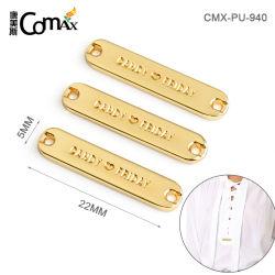 의복 의류 피복을%s 주문 금속 꼬리표 레이블 격판덮개를 위한 최신 판매 금속 의류 레이블 금속 상표 로고