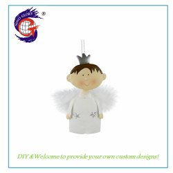 Weihnachtsgarten Party Angel Hanging Decoration Metal Crafts