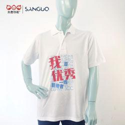 Mayorista de fábrica de nuevo diseño 100% algodón camisetas polo Promociones